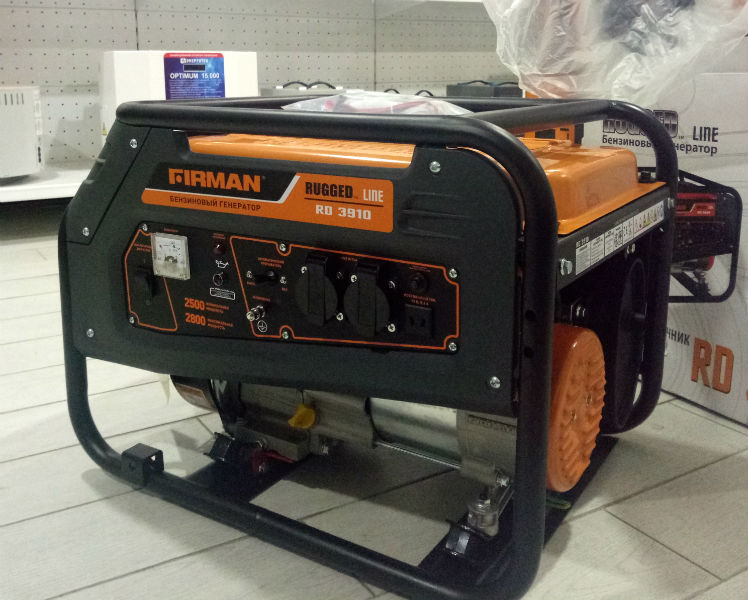 Бензиновый генератор FIRMAN RD3910