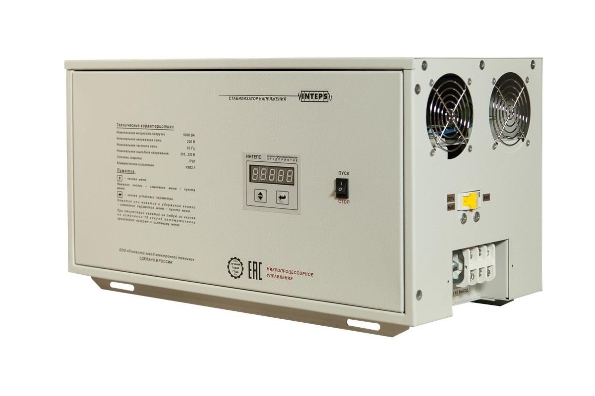 Однофазный стабилизатор напряжения Lider PS5000SQ-PRO-25